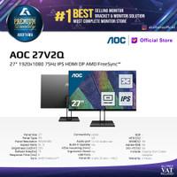 Monitor LED AOC 27V2Q 27 1920x1080 75Hz IPS HDMI DP AMD FreeSync