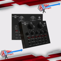 Soundcard V8 Mixer Sound Card V8 MIXER Audio USB External Soundcard