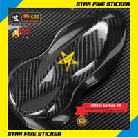 Stiker Skotlet Karbon Kevlar 6D