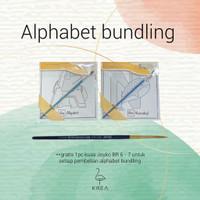 Alphabet BUNDLING by Krea Paper