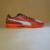 Sepatu Futsal Puma Rapido IT Black / Orange / White Original BNIB