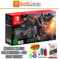 Nintendo Switch Console V2 Monster Hunter Rise Edition Hac 001 01
