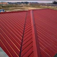 Rangka baja ringan atap spandek warna