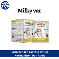 Susu kucing anak kucing kitten induk kucing Milkyvar 1 box