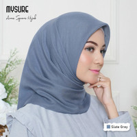 Jilbab Segiempat Aune Square - New Color