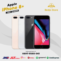 Apple iphone 8 plus 256 Gb seken mulus no dent fullset