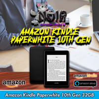 Amazon Kindle Paperwhite 10th Gen EBook Reader Waterproof 32GB Ads