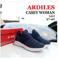 Sepatu Sneakers Wanita ARDILES CASEY Model Slip On-Navy-Size 37-40