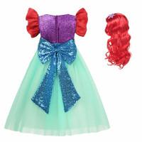 Little Mermaid Putri Gaun Putri Duyung Kecil Cosplay Kostum
