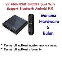 Hiplay V9 Android TV Box 4GB32GB Amlogic S905X3 8K