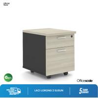 Laci Sorong | Mobile Drawer 2 Susun 40x52x52cm