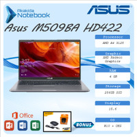 Asus M509BA HD422 A4 9125 4GB 256ssd W10+OHS 15.6
