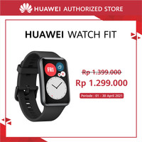 HUAWEI Watch Fit [10 Days Battery Life] [Amoled Display] Black