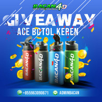 GIVE AWAY BOTOL ACE BACAN4D