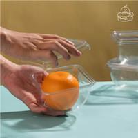 Mika Buah Potong / Cup Buah Plastik / Cup Salad Plastik / Tray Plastik