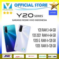 VIVO Y20 3/64, Y20 2021 4/64, Y20S G 4/128, Y20S 8/128 RESMI - Y20 3+64, Biru