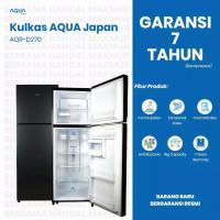 [PROMO]Kulkas 2 pintu SANYO AQUA JAPAN AQR 270 low watt