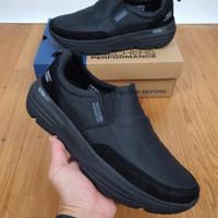 Skechers Pria Go walk Duro / Sepatu Skechers Pria Duro - grey, 40
