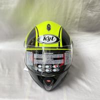 Helm Full Face KYT X ROCKET Yellow