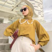 Anna Top / Atasan Fashion Wanita / Blouse Wanita Lengan Panjang