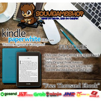 Amazon Kindle Paperwhite 10th Gen EBook Reader Waterproof 8GB Ads