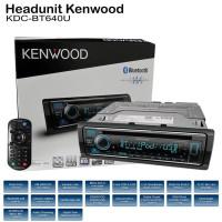 Kenwood KDC BT640U – Head Unit 1Din