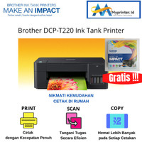 Brother DCP-T220 Ink Tank Printer Print-Scan-Copy