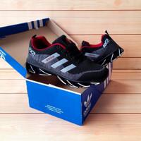 Sepatu adidas ax2 hitam abu springblade pria 39-43