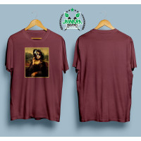 T-Shirt Distro / Baju / Kaos Plesetan Lukisan Mahal