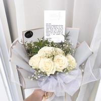 Buket Bunga Mawar Hand Bucket Asli Hand Bouquet Wisuda Ulangtahun