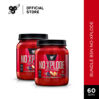 BSN Bundle No Xplode Pre Workout Energy Drink 60 serv + 60 serv