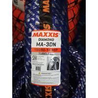 BAN MOTOR MATIC TUBLESS MAXXIS 100/80-14 DIAMOND MA-3DN + BONUS