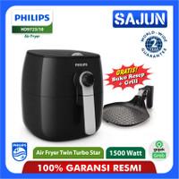 Philips Air Fryer HD9723 Premium Deep Fryer Twin Turbo Star HD9723/10