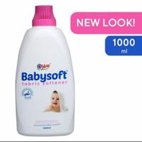 yuri babysoft fabric softener 1L (pelembut dan pewangi pakaian)