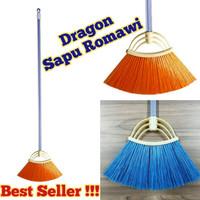 Pamosroom Sapu Romawi Dragon Sapu Lantai Rumah Sapu Senar Nylon New -