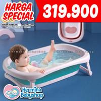 Baby Flow Folding Bath Tub Bak Mandi Lipat - Modern Bathtub - BabyFlowBathTub