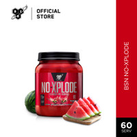 BSN N.O-Xplode 2.5lbs Pre-Workout Energy Drink - Watermelon