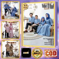 Baju Lebaran keluarga seragam model couple gamis syari koko Terbaru