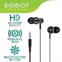 Robot RE20 Oblique In-Ear Deep Bass Ultra Light Wired Earphone 3.5mm