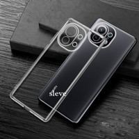 Casing for Xiaomi Mi11 Mi 11 Silicone Clear Softcase Cover Soft Case