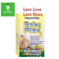 Nature's Plus Baby Plex Animal Parade 60ml 2 oz 60 ml
