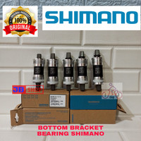 BOTTOM BRACKET BB SEPEDA SHIMANO AS GIR GEAR BEARING 113 117,5 122 127