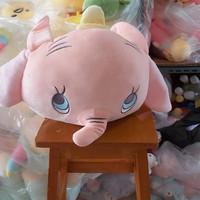 Balmut Boneka selimut karakter Gajah