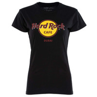 Kaos Logo Hard Rock Cafe Wanita - ORIGINAL HARDROCK