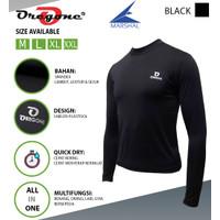 Oregone - Baju Baselayer Manset Jersey Olahraga Sepeda Lengan Panjang