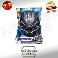 Marvel Avengers Black Panther Vibranium Power Fx Mask Topeng Endgame