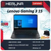 Lenovo Ideapad Gaming 3 15 Ryzen 5 4600 8GB 1TB+256ssd GTX1650Ti 4GB