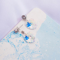 Perhiasan anting Swarovski - Irish Aurore Crystal Earring by AR HESTIA