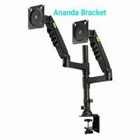 BRACKET BREKET TV LED DOUBLE MONITOR NEW SERIES NORTH BAYOU H160