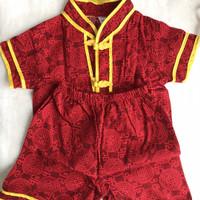 preloved setelan baju bayi imlek tahun baru cina